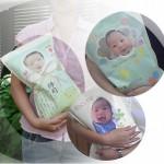 ご出産の内祝いにおすすめ「抱っこ米」